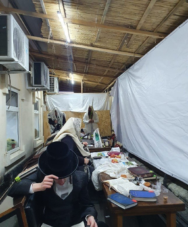 Pictures and Video: Sukkos in Uman
